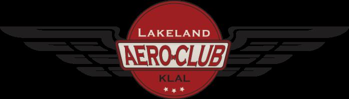 Lakeland Aero Club KLAL Logo with Wings