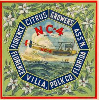 Florence Citrus Growers NC-4 Citrus Label