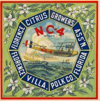 Florence Citrus Growers NC-4 Citrus Label